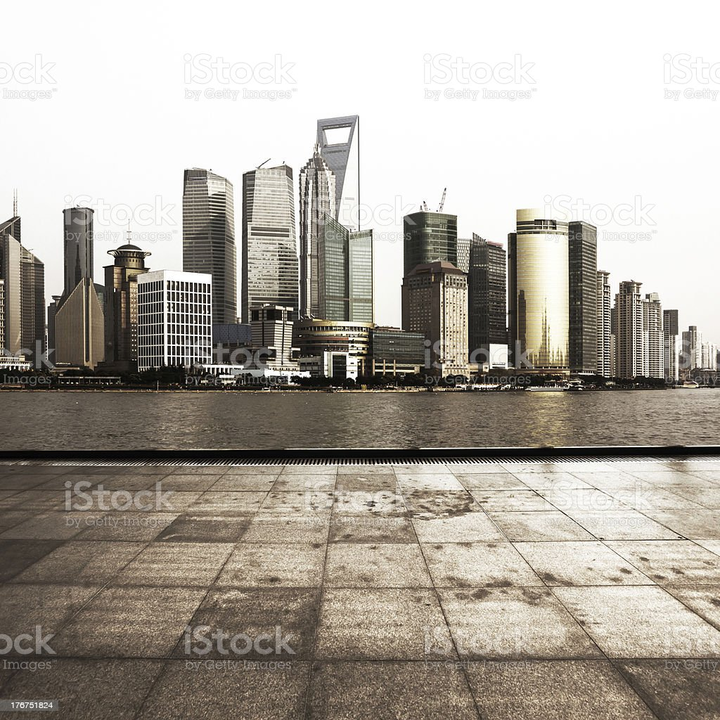 City Square royalty-free stock photo