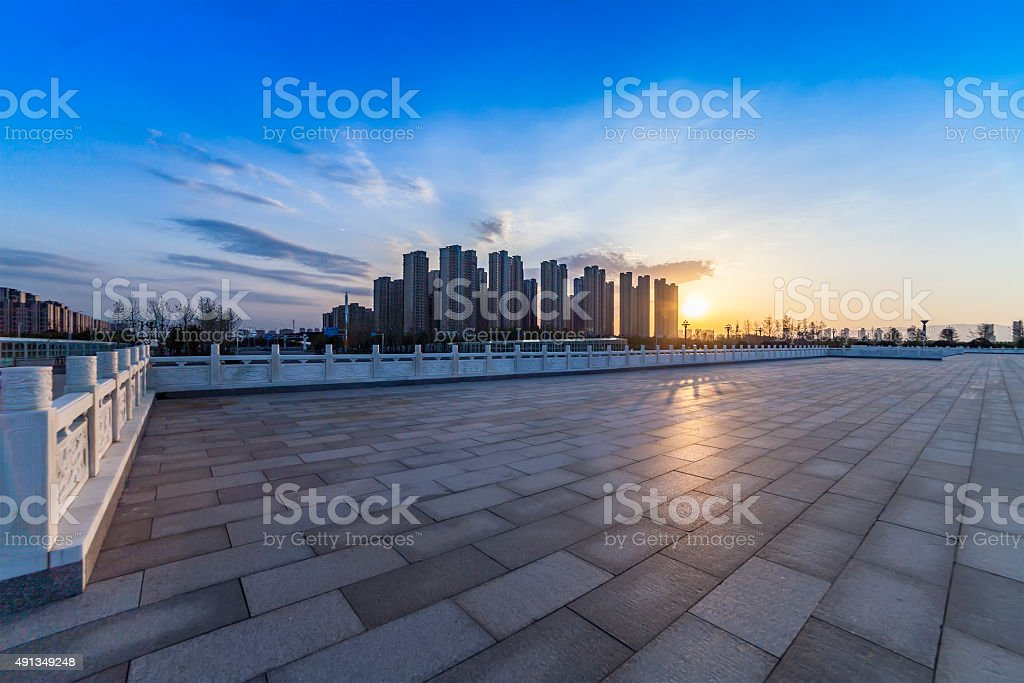 City Square stock photo
