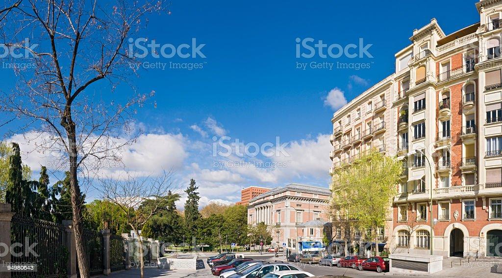 City street Madrid royalty-free stock photo
