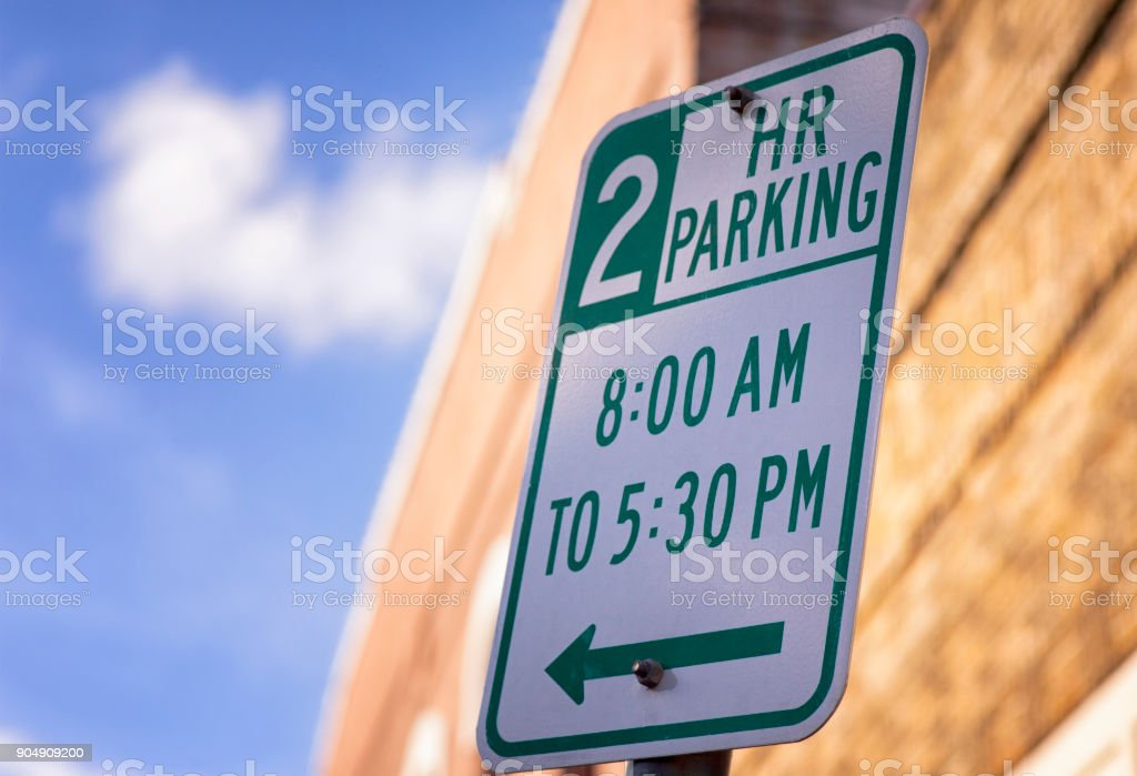 City Street Sign stock photo