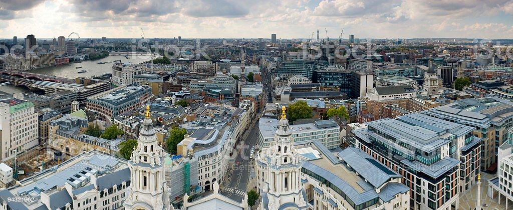 City streets, London royalty-free stock photo