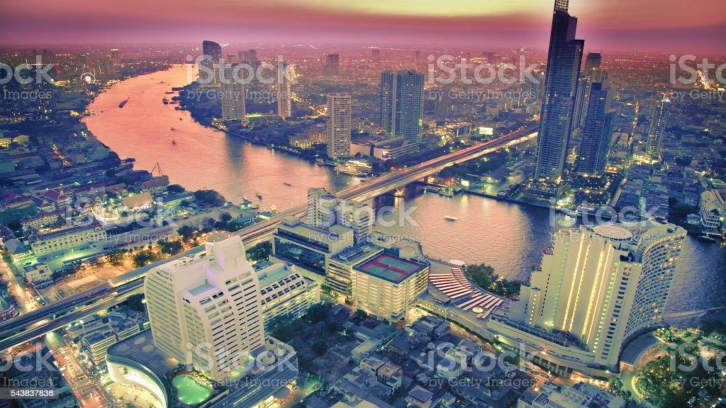 City sunset圖像檔