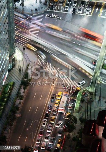 820883024istockphoto City Traffic at Night 108314275