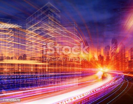 City traffic of future