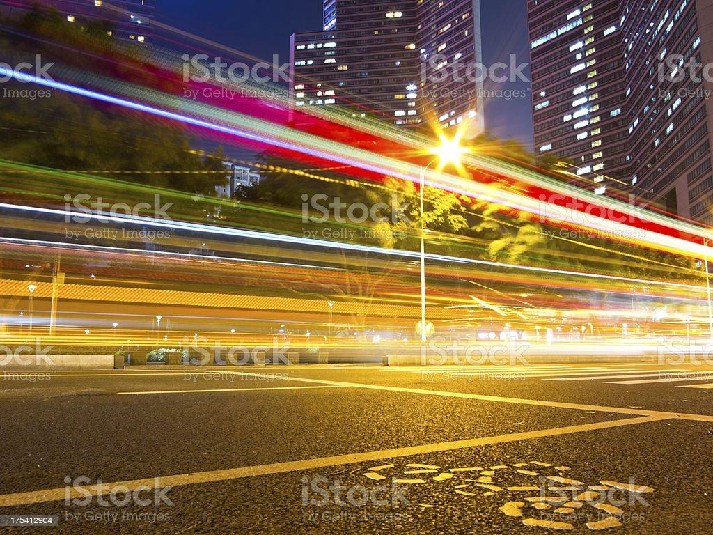 City traffic royalty-free stock photo