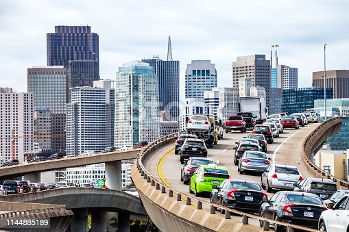 City traffic - San Francisco, California, USA