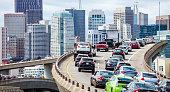 City traffic - San Francisco, California, USA