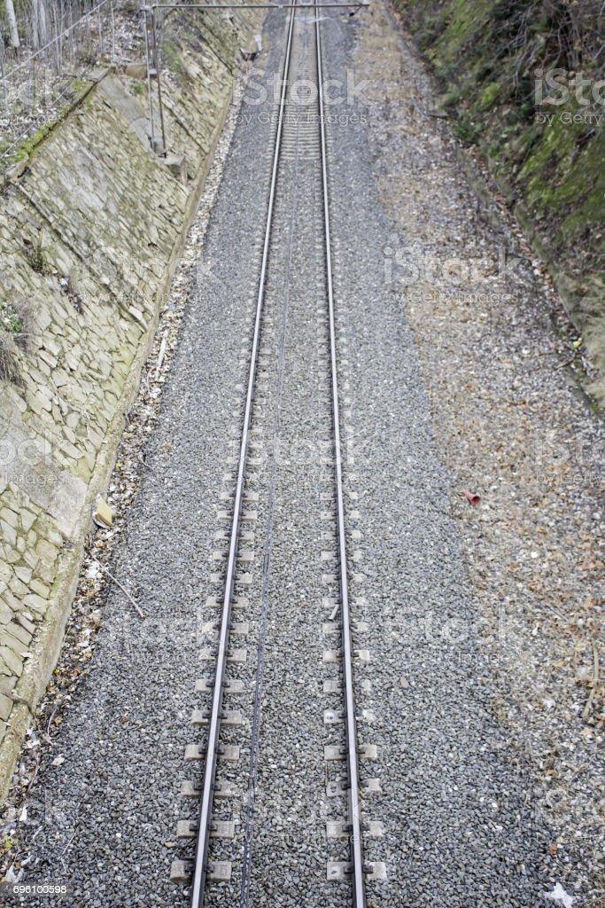 City Train stock photo