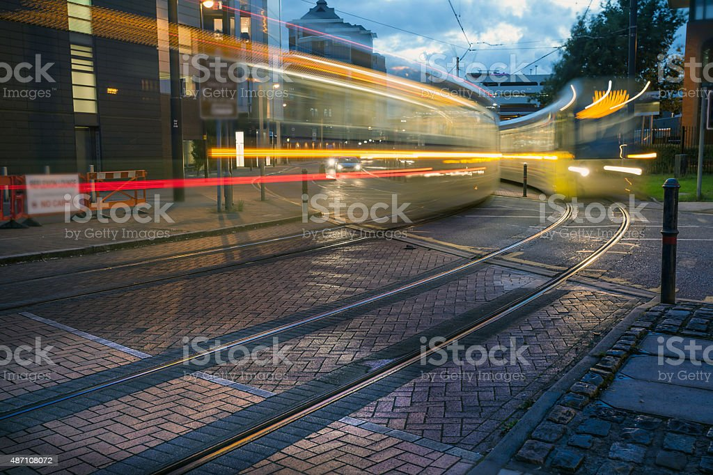 City Tram stock photo