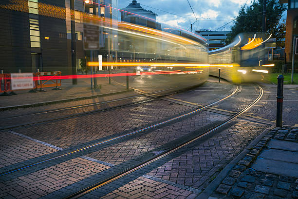 City Tram stock photo