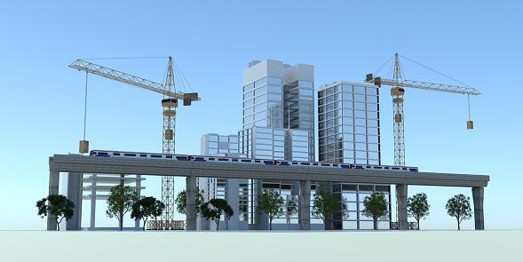 City transport 3D