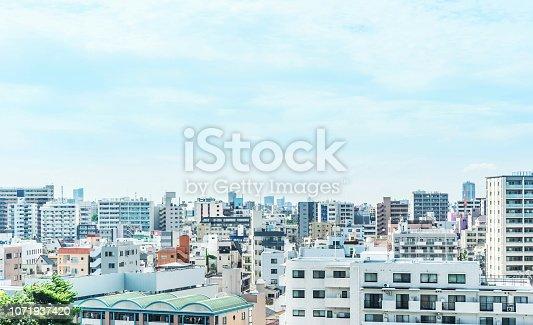 1184122904 istock photo city urban skyline aerial view in koto district, japan 1071937420