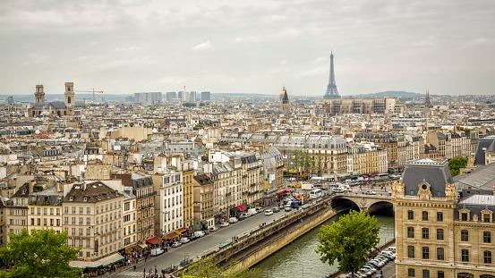Paris - France, Notre Dame de Paris, Seine, Europe, France