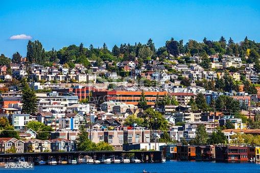 City view. Seattle, Washington, USA.