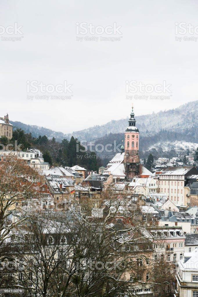 City view of Baden-Baden stock photo