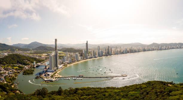 City view of Balneário Camboriú stock photo