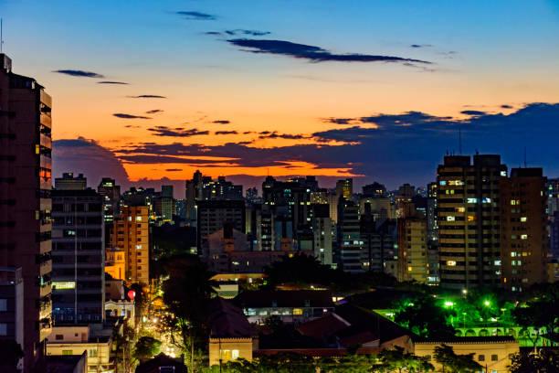 City view of Belo Horizonte in Minas Gerais stock photo