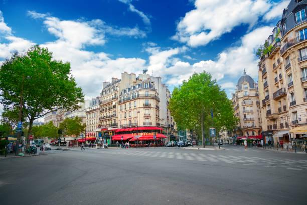 Stadtansicht von Boulevard du Montparnasse – Foto