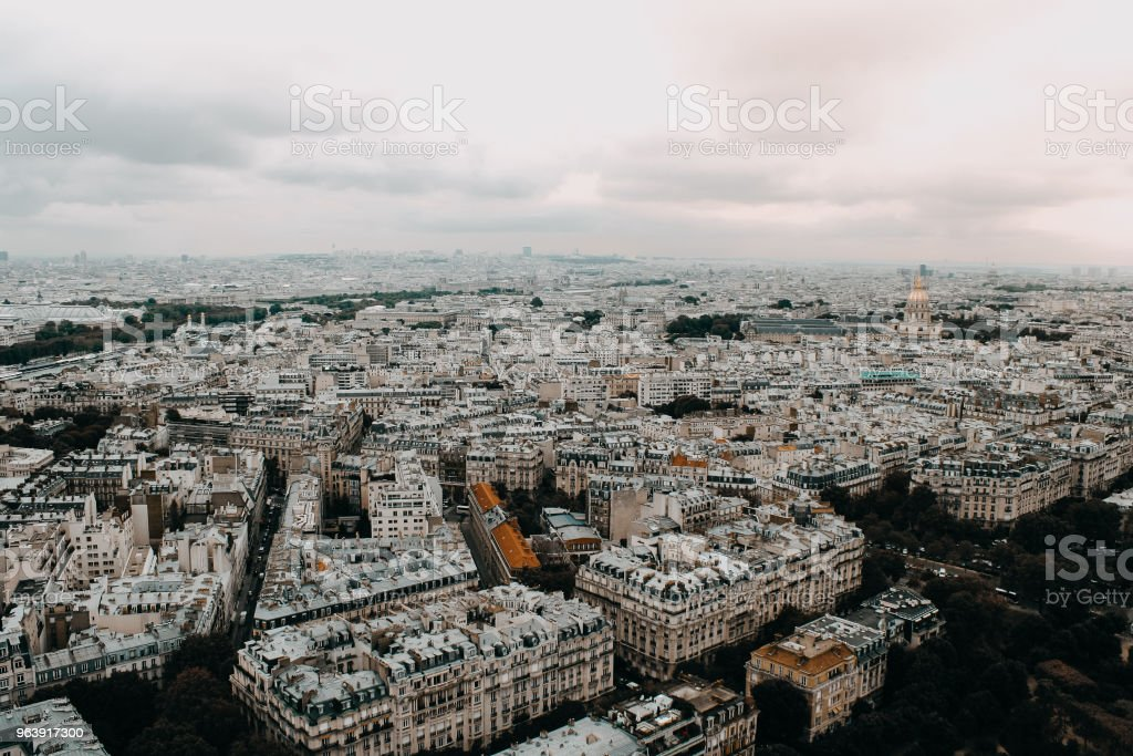 City View of Paris - Royalty-free Angle Stock Photo