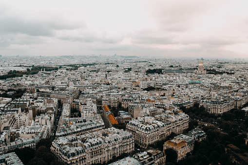 City View Of Paris Stock Photo - Download Image Now