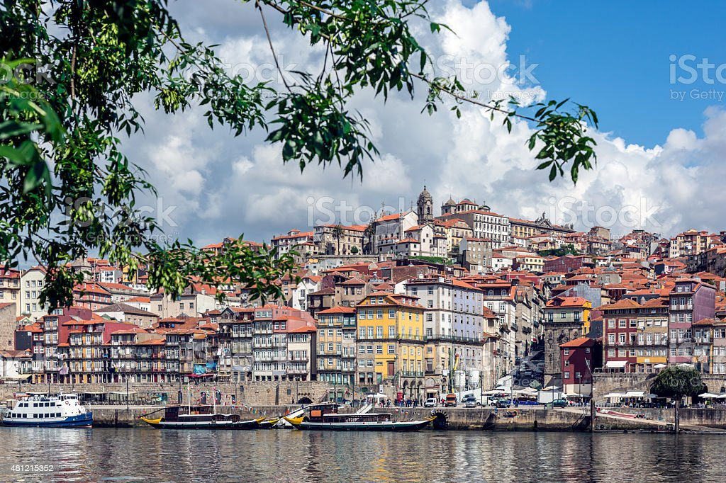 City View of Porto, Portugal stock photo