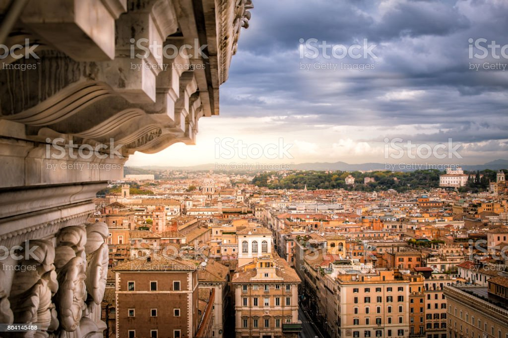 City view of Rome royalty-free stock photo