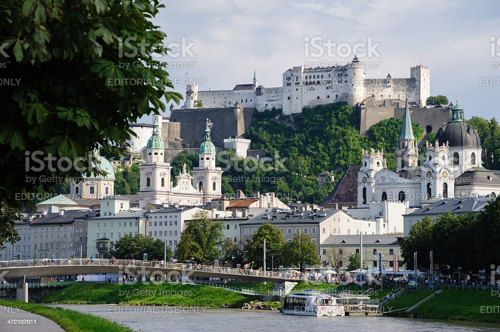 City View of Salzburg, Austria royalty-free stock photo