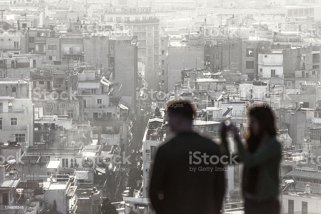 City view. royalty-free stock photo