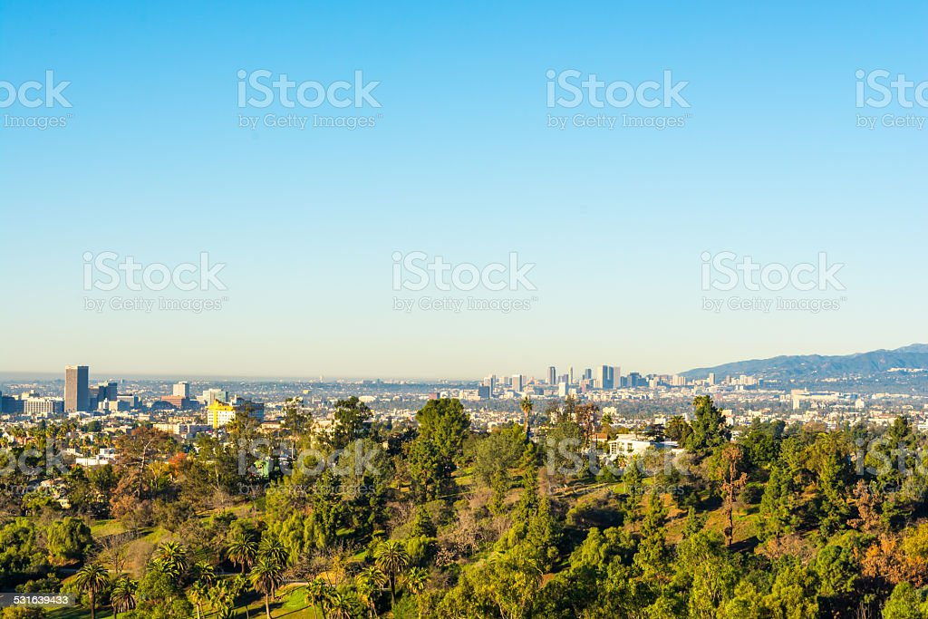 city view stock photo