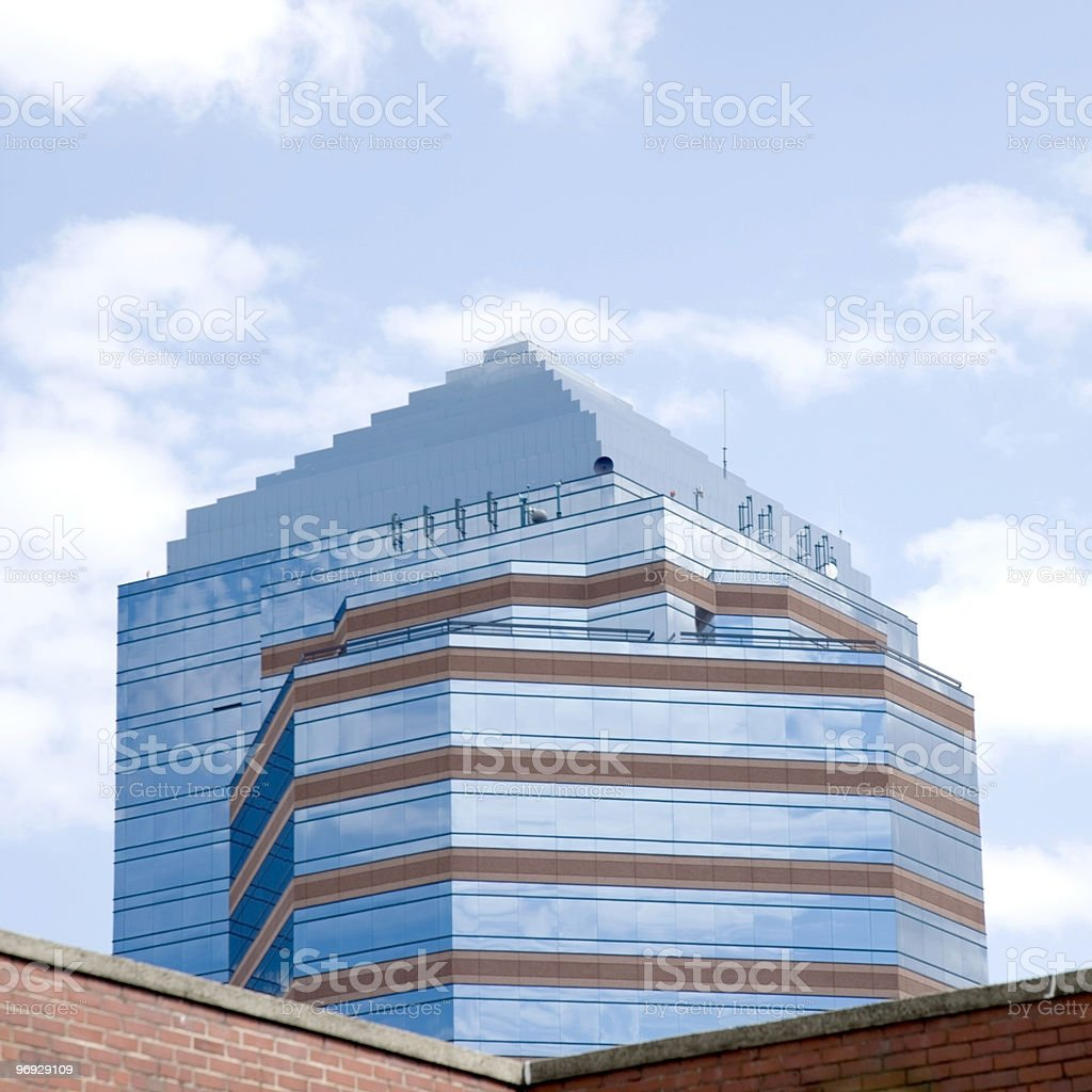 City View - Square royalty-free stock photo