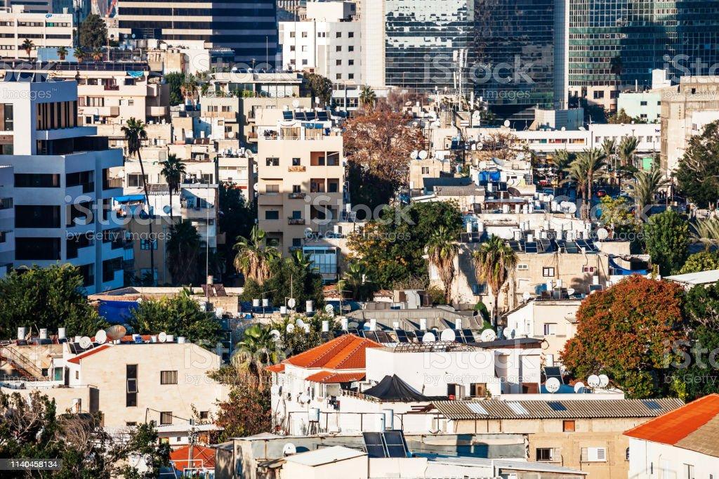 City view - Tel Aviv, Israel stock photo