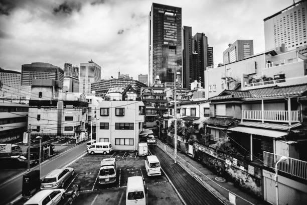 City view - Tokyo, Japan stock photo