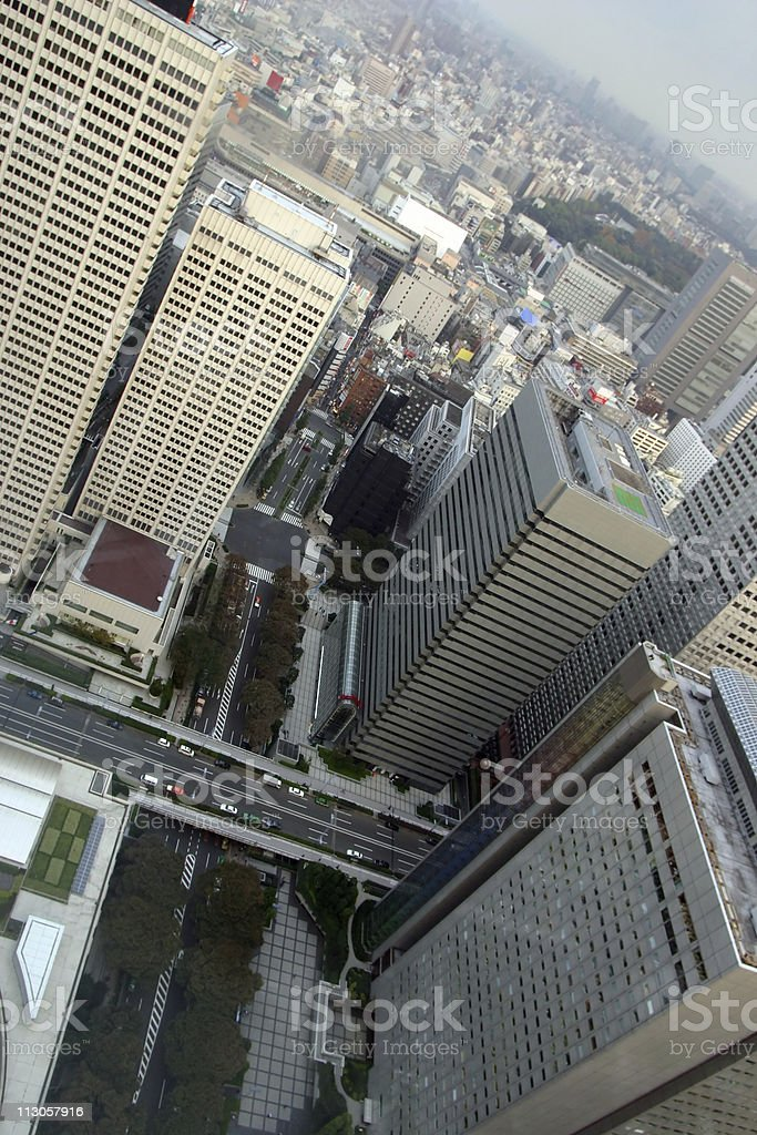 City view - Tokyo royalty-free stock photo
