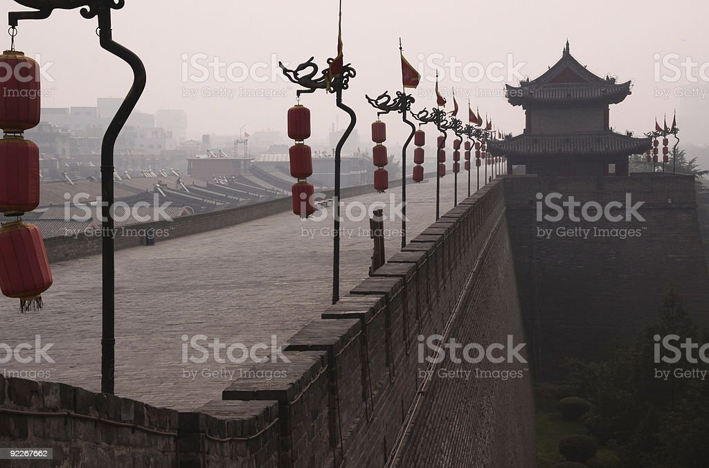 City Wall Xi'an 2 royalty-free stock photo