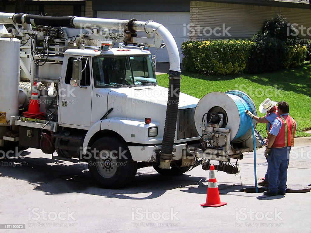 City Water Dept. 6 stock photo