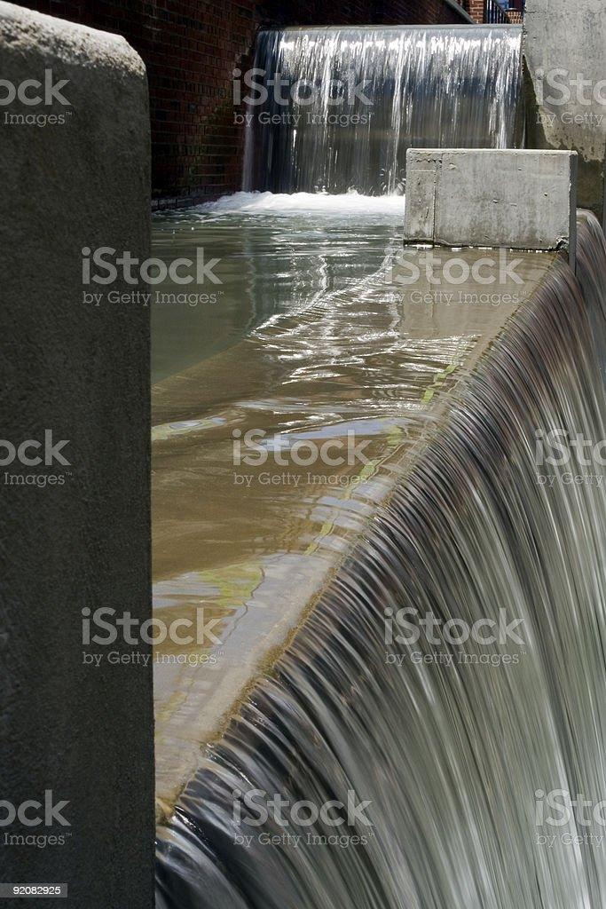 City Waterfall I royalty-free stock photo