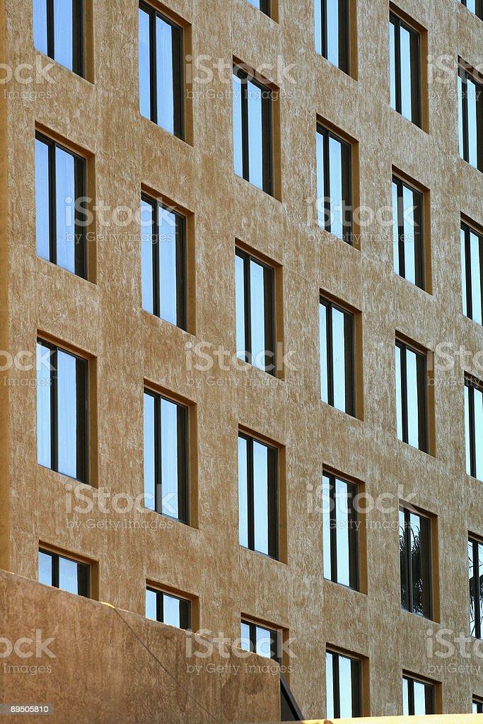 City Windows royalty-free stock photo