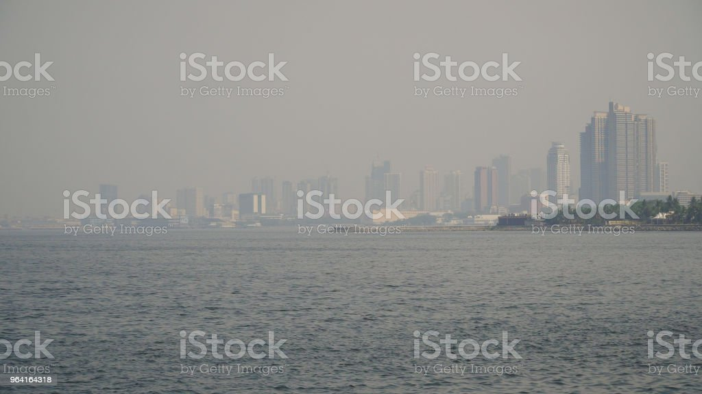 City with skyscrapers and buildings. Philippines, Manila, Makati stock photo
