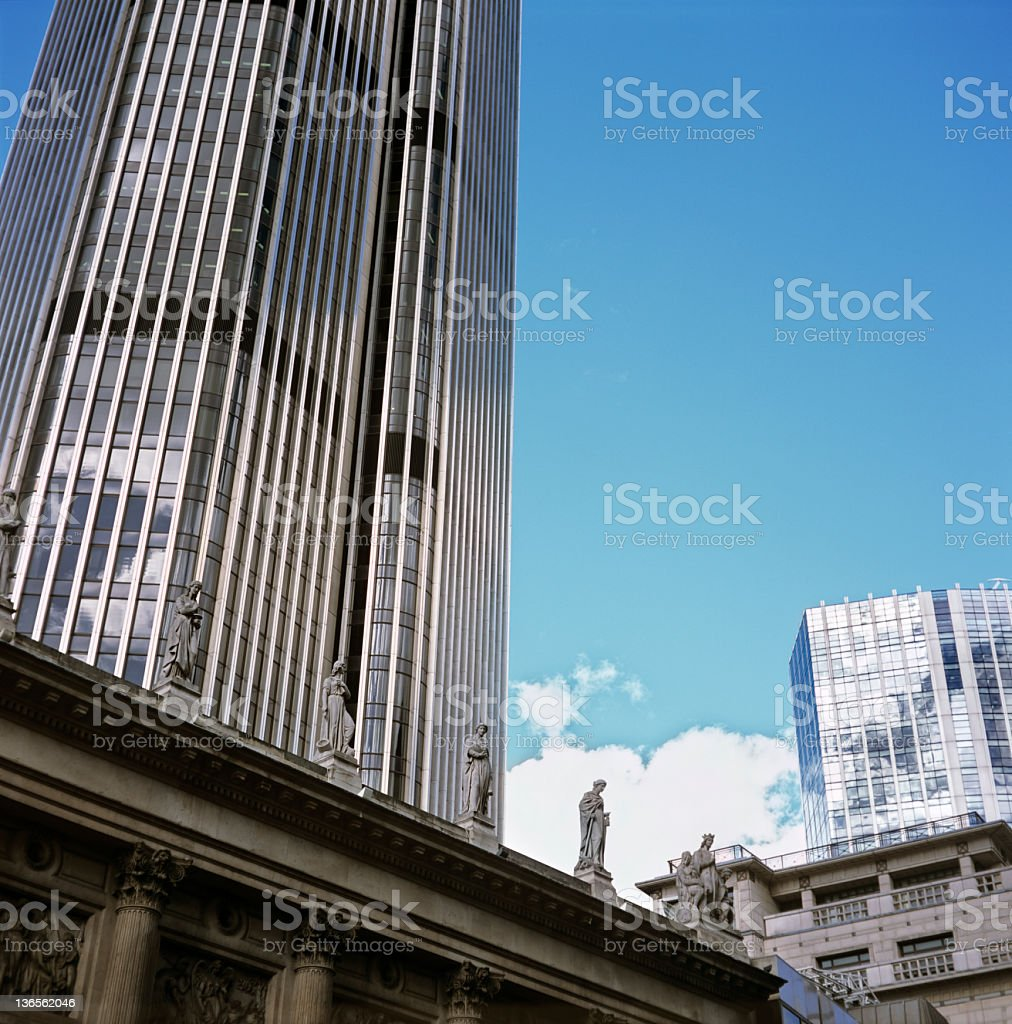 City with women royalty-free stock photo