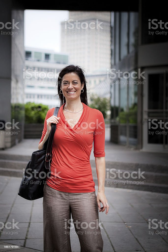 City Woman stock photo