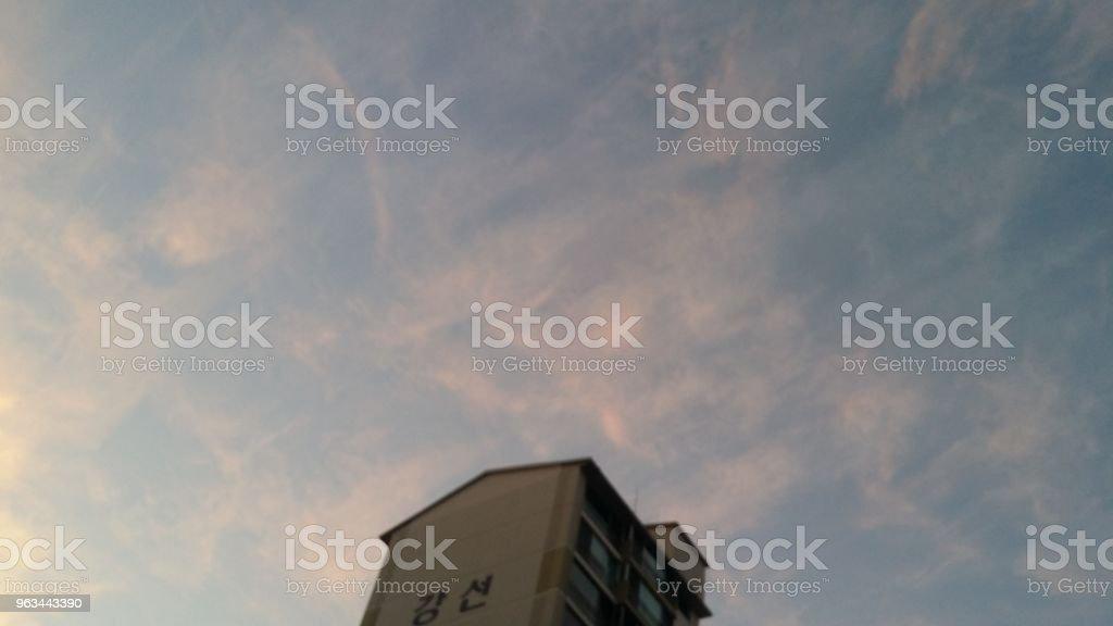 Paysage urbain 3: le ciel en Ilsan - Photo de Ciel libre de droits