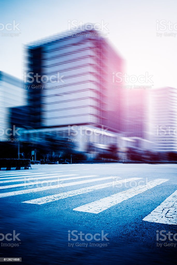 cityscape and road traffic - Photo