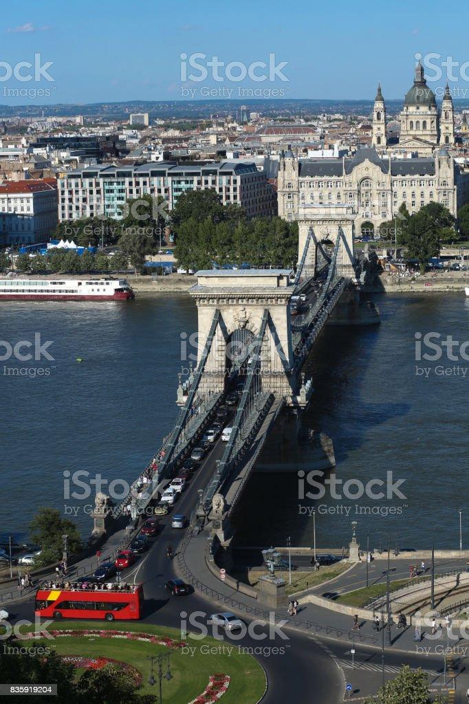 Cityscape Budapest stock photo