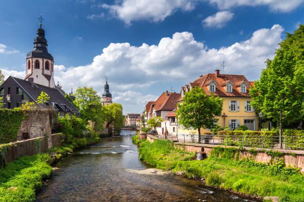Fluss Karlsruhe