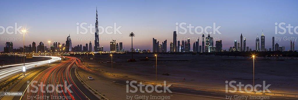 Cityscape, Dubai. royalty-free stock photo