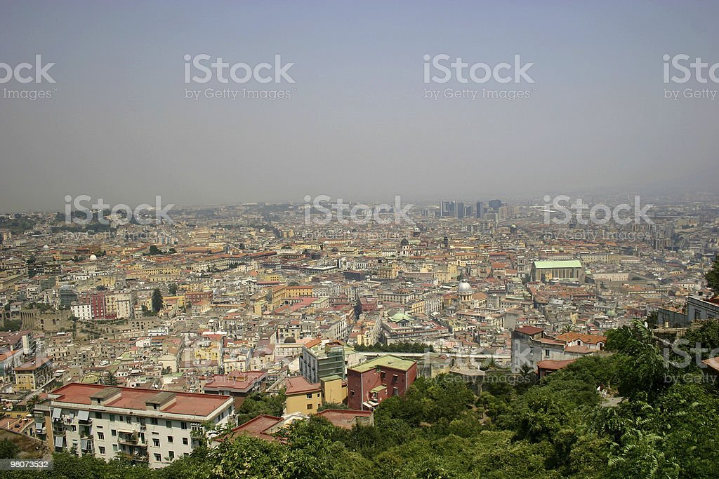 Cityscape from Napoles royalty-free stock photo