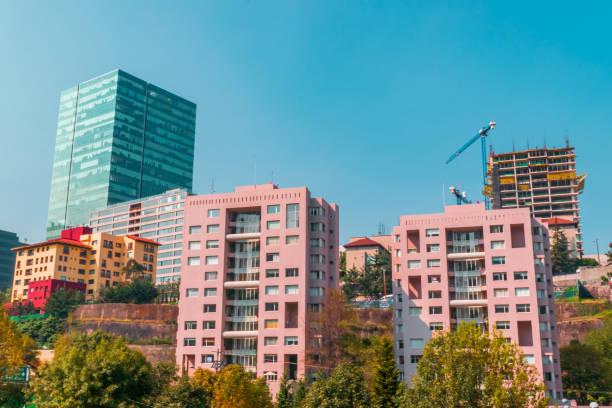 Cityscape in Mexico stock photo