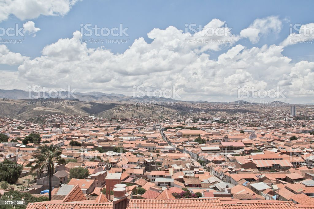 Cityscape In Sucre Is The Constitutional Capital Of Bolivia With High Altitude And Old Architecture Stock Photo Download Image Now Istock