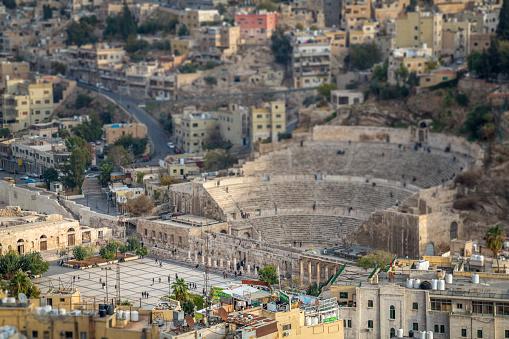 Jordan - Middle East, Arabia, Amman, Night, Tourism