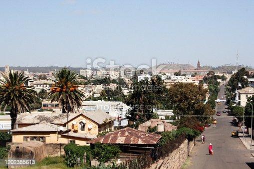 istock Cityscape of Asmara, Eritrea, Horn of Africa 1202385613